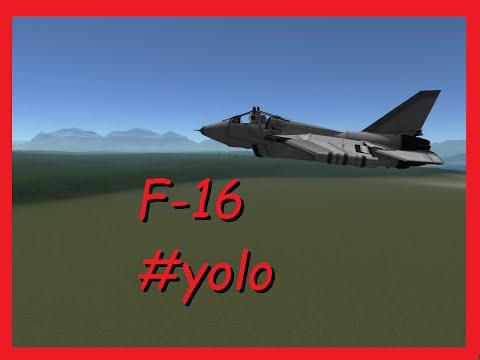 KSP Stock - F-16 #YOLO