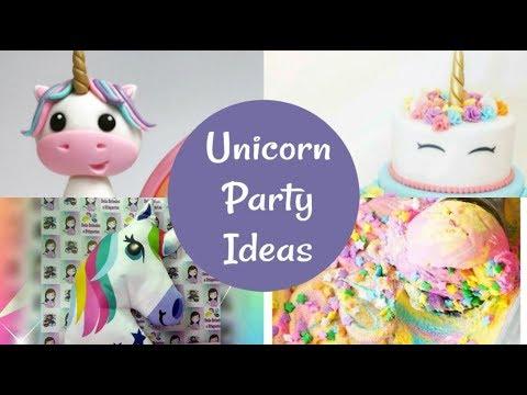 30 Magical Rainbow Unicorn Party Ideas & Supplies!