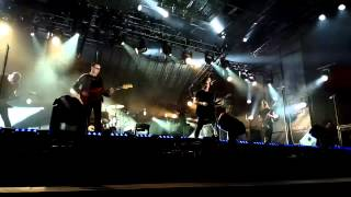 nine inch nails - The Hand That Feeds - Jimmy Kimmel Live 11/7/2013