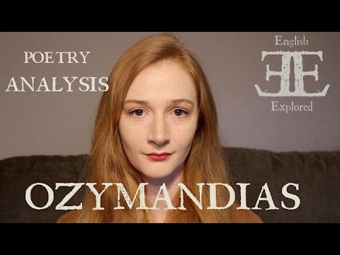 Ozymandias by Percy Bysshe Shelley | Poetry Analysis | English Explored