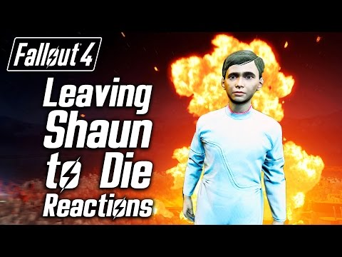 Fallout 4 - Leaving Shaun to Die - Sturges, Tinker Tom & Proctor Ingram's Reactions Mp3