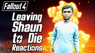 Fallout 4 - Leaving Shaun to Die - Sturges, Tinker Tom Proctor Ingram s Reactions
