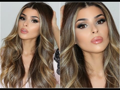 prom makeup and hair tutorial 2016 youtube