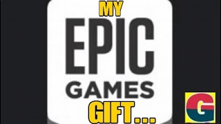 FORTNITE - MY GIFT FROM EPIC GAMING
