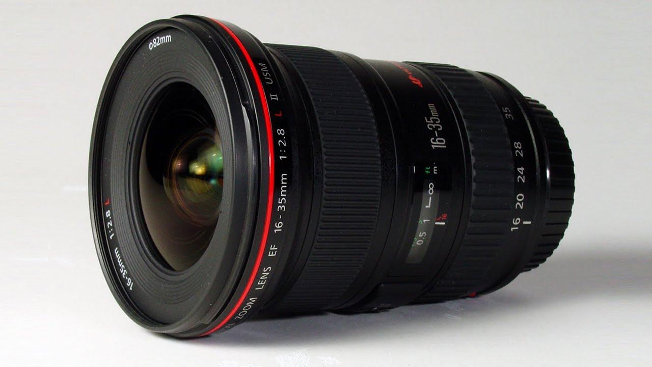 camera gazer canon ef 16 35mm f 2 8l ii usm lens review youtube. Black Bedroom Furniture Sets. Home Design Ideas