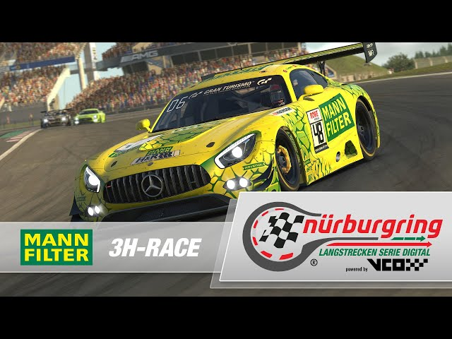 MANN-FILTER 3H-Race – Digital Nürburgring Endurance Series powered by VCO
