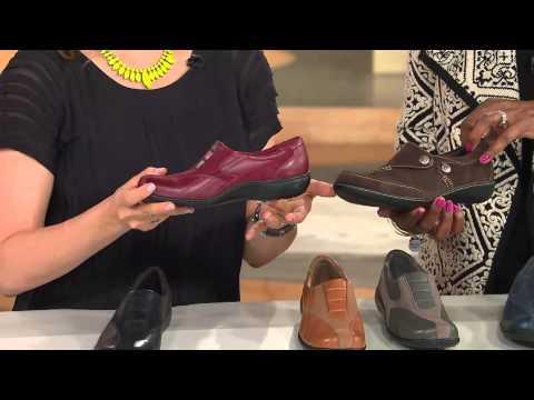 Clarks Leather & Nubuck Shoes - Bingo With Jill Bauer