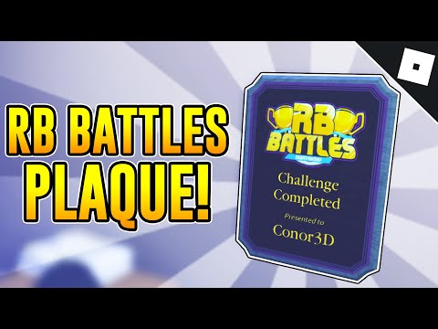 How to COMPLETE THE MAZE AND GET THE RB BATTLES PLAQUE in WELCOME TO BLOXBURG | Roblox