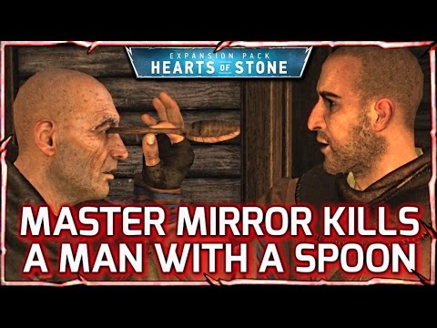 Witcher 3: HEARTS OF STONE ► Master Mirror Kills with a Spoon! And Stops Time 26