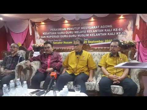 TERKINI : Sidang Media Khas YB Senator Haji Husam Musa