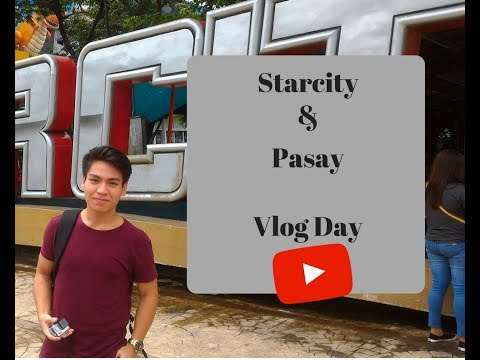 Vlog#1 PASAY & Starcity!!!