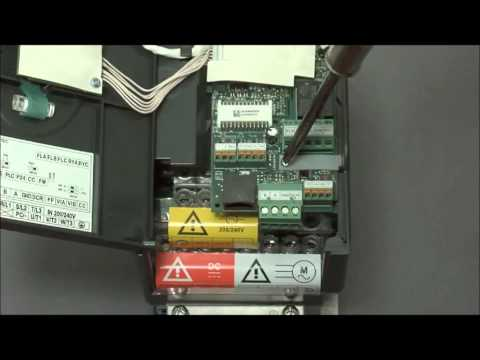 How To Wire an HVAC Variable Speed / Frequency Drive | Altivar 212 VFD