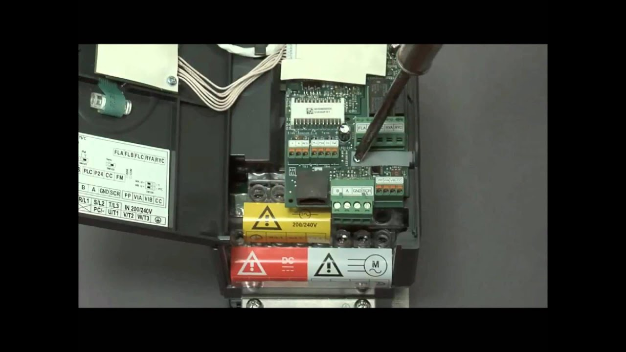 how to wire an hvac variable speed frequency drive altivar 212 rh youtube com Lathe VFD Schematic Lathe VFD Schematic
