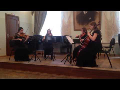 Бетховен Квартет №7 Op 59,2 ч