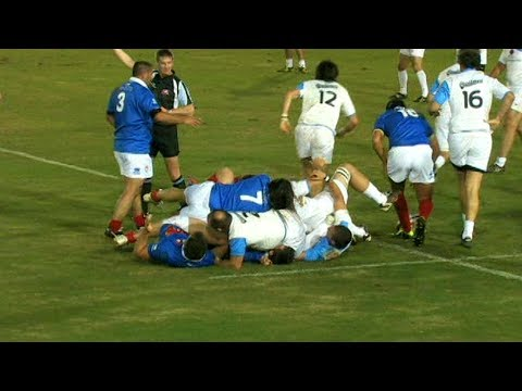 World Rugby Classic 2012: Argentina vs France (1st Half)