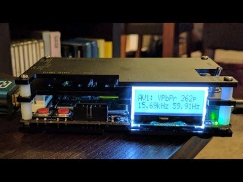 Testing the Open Source Scan Converter (OSSC) - RBG Sega Genesis