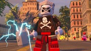 LEGO Marvel's Avengers - Custom Character Manhattan Free Roam Gameplay
