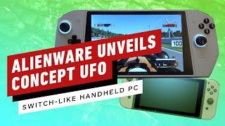 Alienware Unveils Concept UFO  (A Switch-like handheld PC) - CES 2020