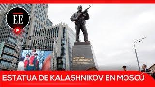 En Moscú, estatua a Kalashnikov, padre de la AK-47  | El Espectador