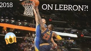 STEPHEN CURRY BEST DUNKS COMPILATION 2018 |HD