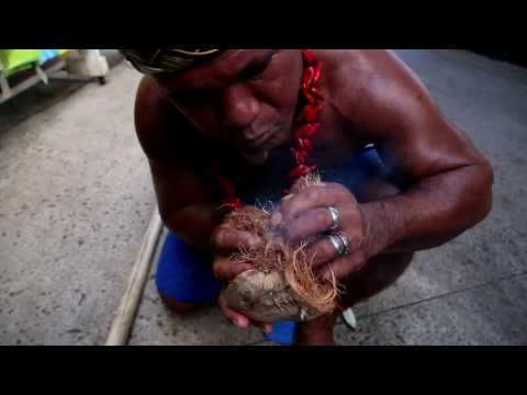 Meet Kap from the Polynesian Culture Center - Start & Extinguish a Fire