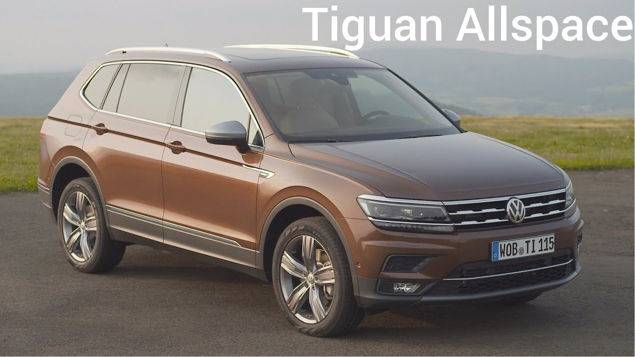 2018 volkswagen tiguan allspace 7 seater suv youtube. Black Bedroom Furniture Sets. Home Design Ideas