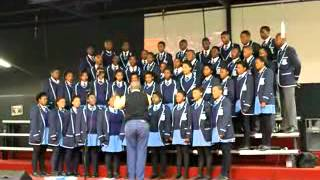 Imizamo Yethu School Choir at the Sound of Freedom Choir Competition