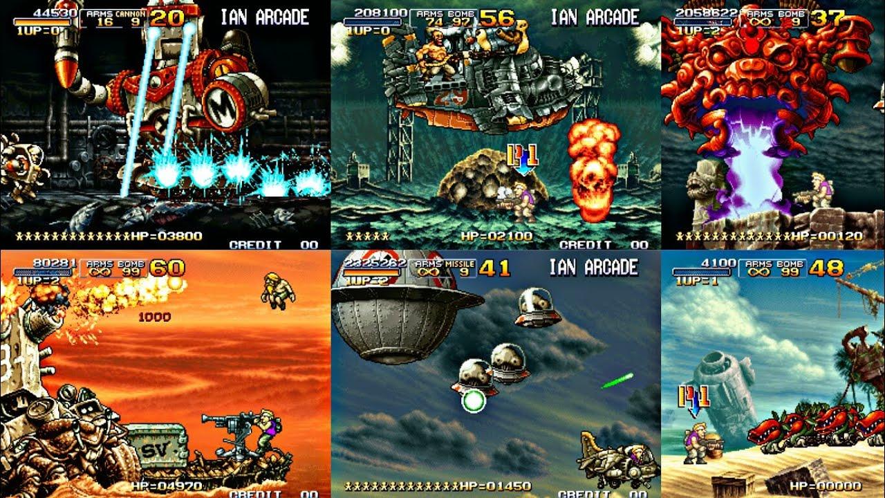 Metal Slug 3 X elite sóldier Hack para Tiger Arcade. Fba4droid y kawaks en Android - YouTube