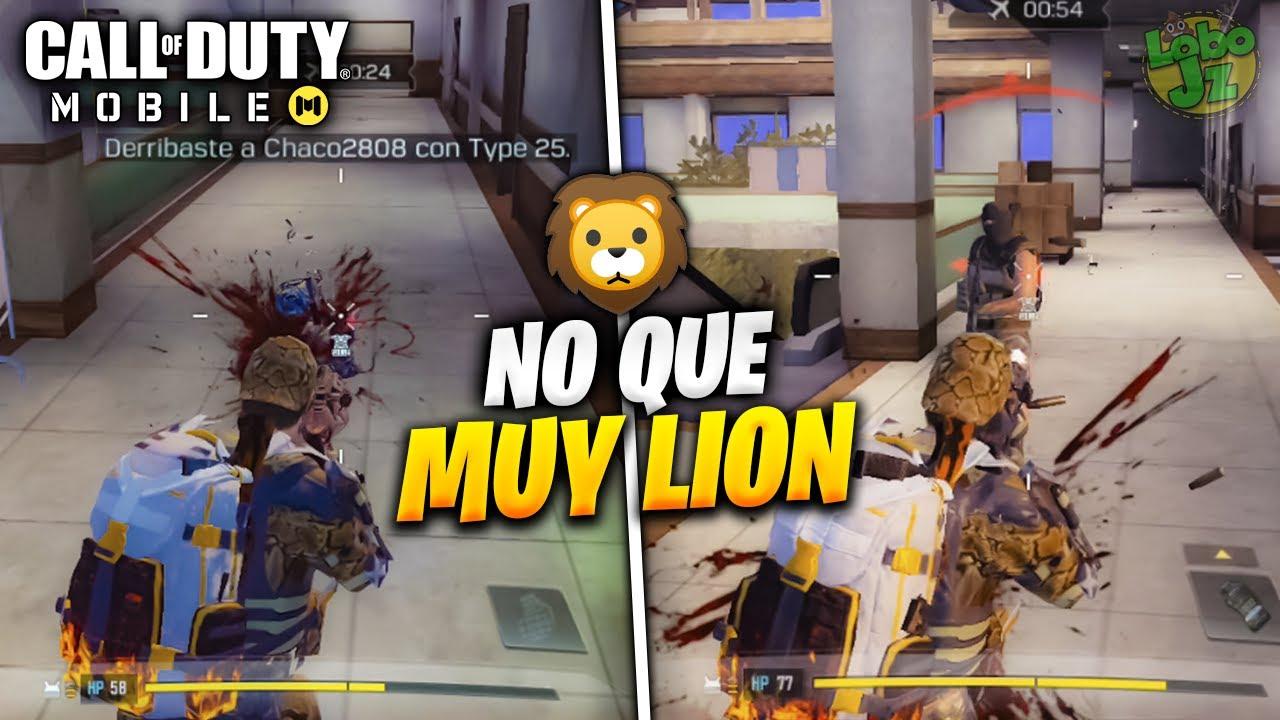 *NO QUE MUY LION* versión COD MOBILE | Battle Royale | Lobo Jz