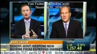 12/30/2010 - Peter Schiff On Fast Money Halftime Report: Home Prices Will Dive At Least Another 20%