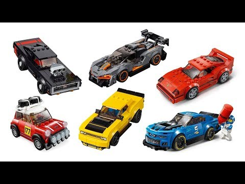 all lego speed champions 2019 sets images youtube. Black Bedroom Furniture Sets. Home Design Ideas