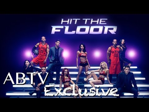 Exclusive Jodi Lyn O'Keefe & James LaRosa at BET for Hit The Floor