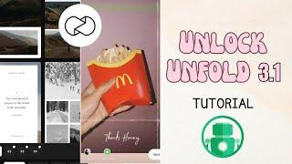 Gambar cover How to Unlock UNFOLD Templates   Prinsesa Giann