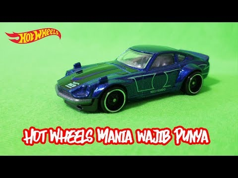 Review Hot Wheels Datsun | Unboxing