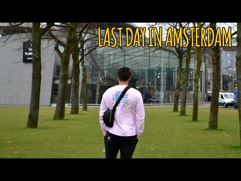 VAN GOGH MUSEUM | Last Day in Amsterdam | Amsterdam Travel Vlog #5