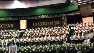 Graduation 2012 La Salle Greenhills