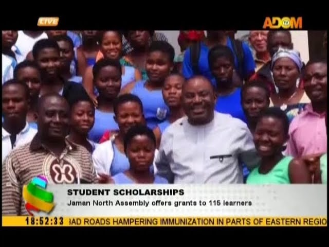 Students Scholarships: Jaman North Assembly offers grants to 115 learners (18-10-18)