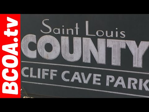 Cliff Cave Park Mississippi River Trail Bicycle Ride St  Louis Missouri August 27th 2017