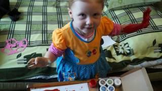 Рисуем красками Урок рисования для начинающих Учимся рисовать Видео для детей
