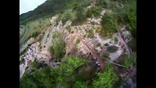 VTT 2013 St Pompon; descente du paradis2