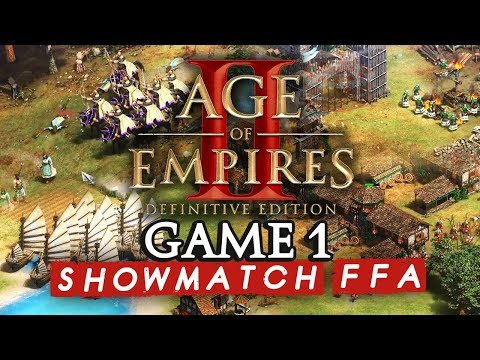 Age Of Empires II FFA : Game 1 (ShowMatch 2000€ Cash Prize)