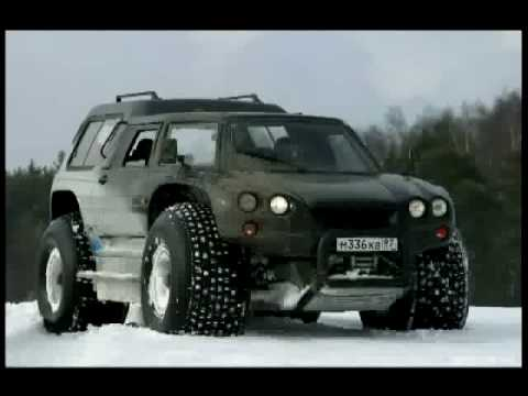 Extreme AMPHIBIOUS Russian offroad vehicle: Aton-Impulse VIK