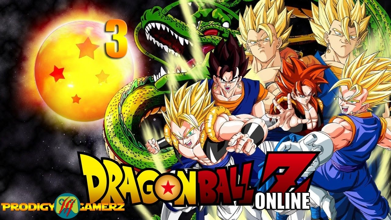 Let's Play : Dragon Ball Z Online Episode 3