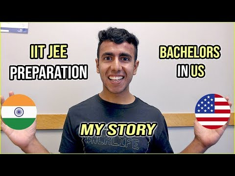 My High School Life: Big Transition | JEE Preparation to Bachelors in US
