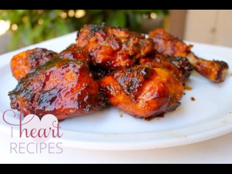 Hickory Smoked Barbecue Chicken Recipe : Made on the grill - I Heart ...