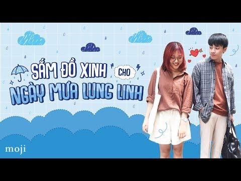 Cẩm Nang Mùa Mưa | SẮM ĐỒ XINH CHO NGÀY MƯA LUNG LINH - Moji Channel
