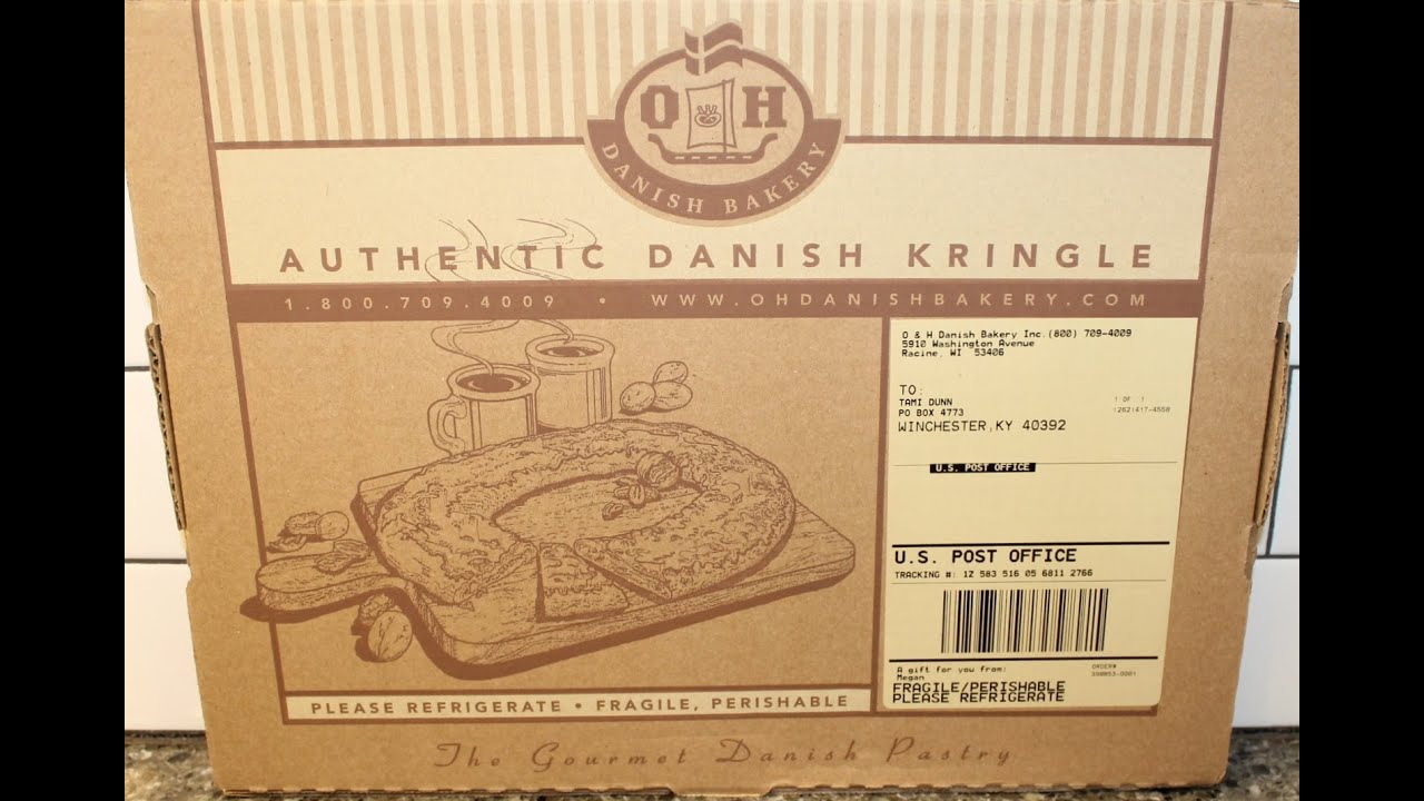 O H Danish Bakery Authentic Danish Wisconsin Kringle Review Youtube
