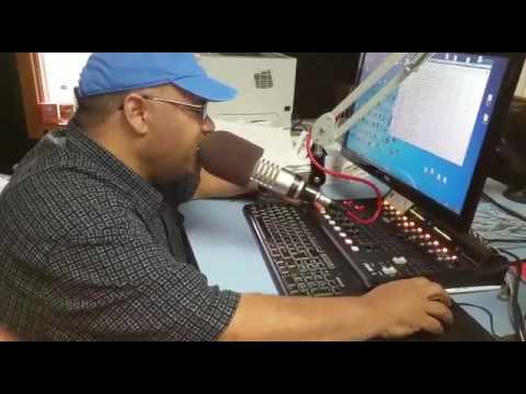 Cesar lantigua,locutor de Radio Visión Cristiana,y la Patora,Dinora de Ferreria.