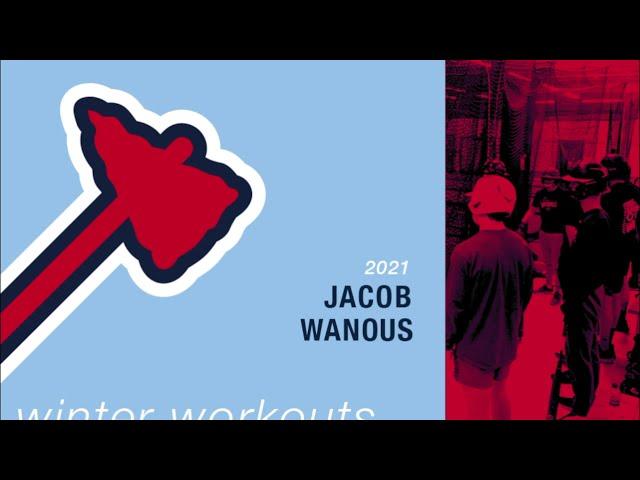 Michigan Braves Winter Workouts - Jacob Wanous