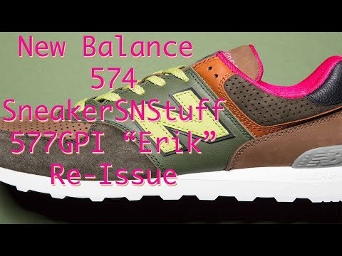 Sneakersnstuff x New Balance ML574SNS Sneaker Unboxing YouTube